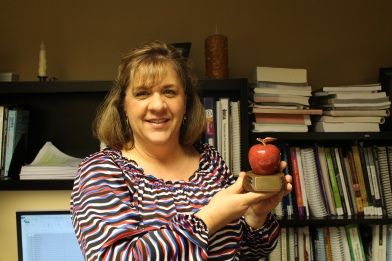 Kathleen Daugherty, instructor and coordinator of the Office Technology and Medical Coding Programs at Lake Land College has been selected as the winner of the 2014 Eastern Illinois Business Education Association Teacher of the Year Award.